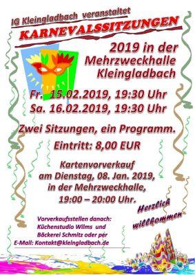 Karnevalsplakat 2019